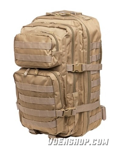 Рюкзак милитари Assault Pack Mil-Tec 45 литров (Tan)